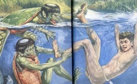 传说中的水猴子真的存在吗,水猴子是什么?水鬼?