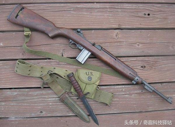 二战十大名枪:M1卡宾枪、M1911A1手枪、施梅瑟冲锋枪、MK4冲锋枪